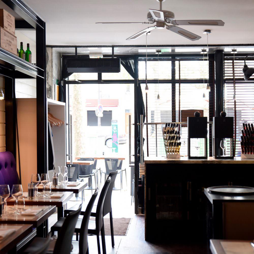 Restaurant la Violette - Paris 19e